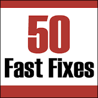50 fast fixes to land a job, fast fixes to get a job, 50 job search fast fixes,