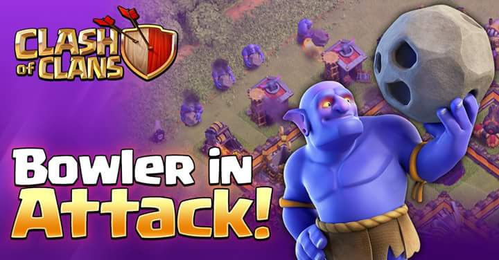 "Clash of Clans Sneak Peak 3: The ""Bowler"", New Dark Troop"