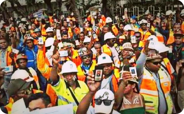 Karyawan PTFI Minta Pemerintah Sediakan Loker Untuk 32.000 Orang