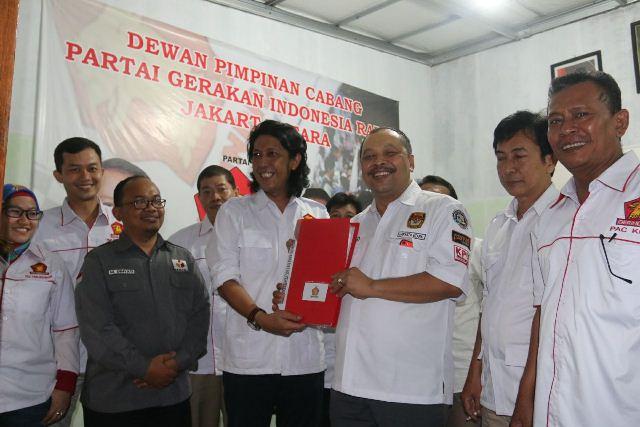 Lolos Verifikasi, DPC Gerindra Jakut Siap Menangkan Prabowo