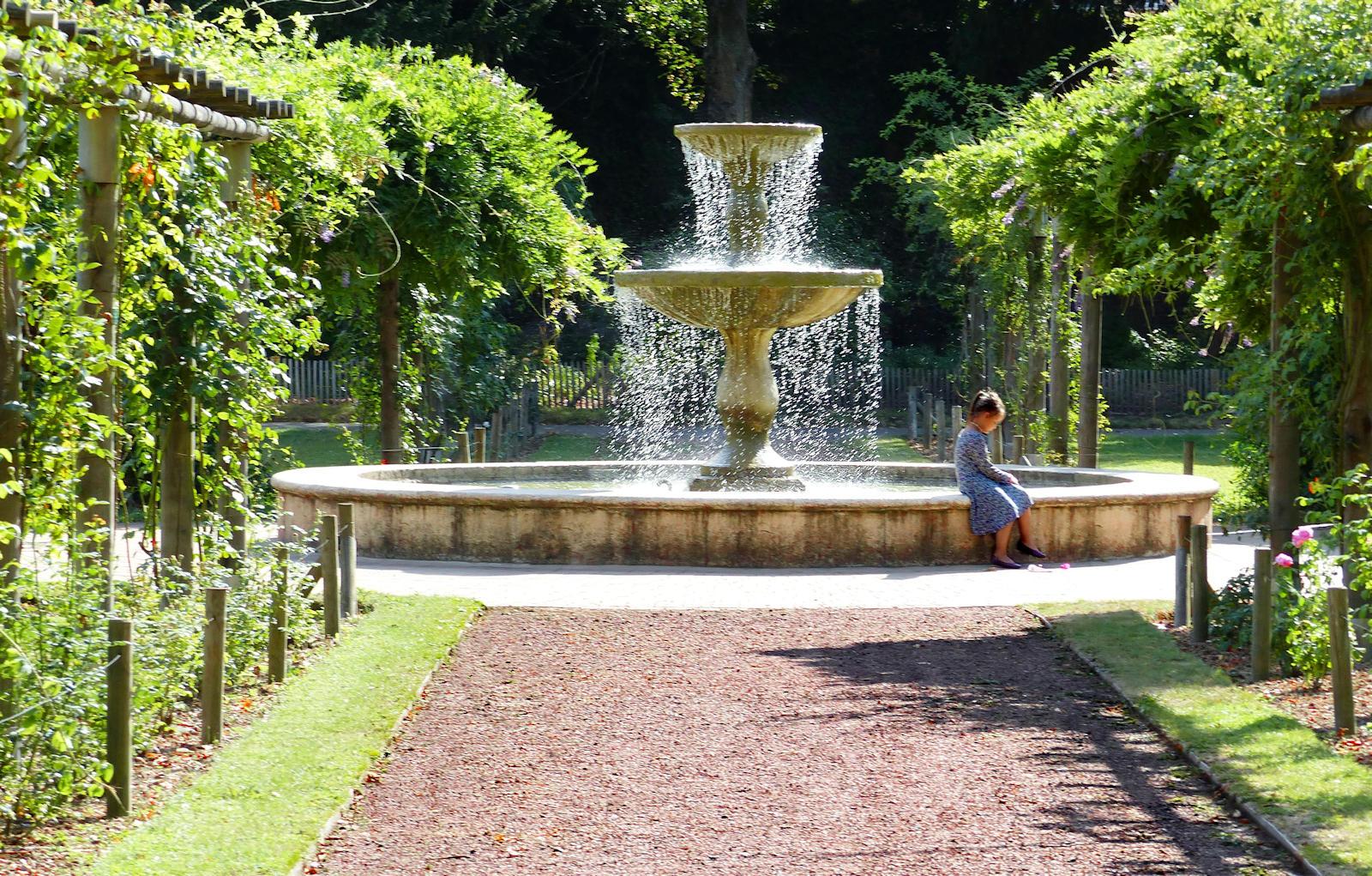 Jardin botanique, Tourcoing - Fontaine