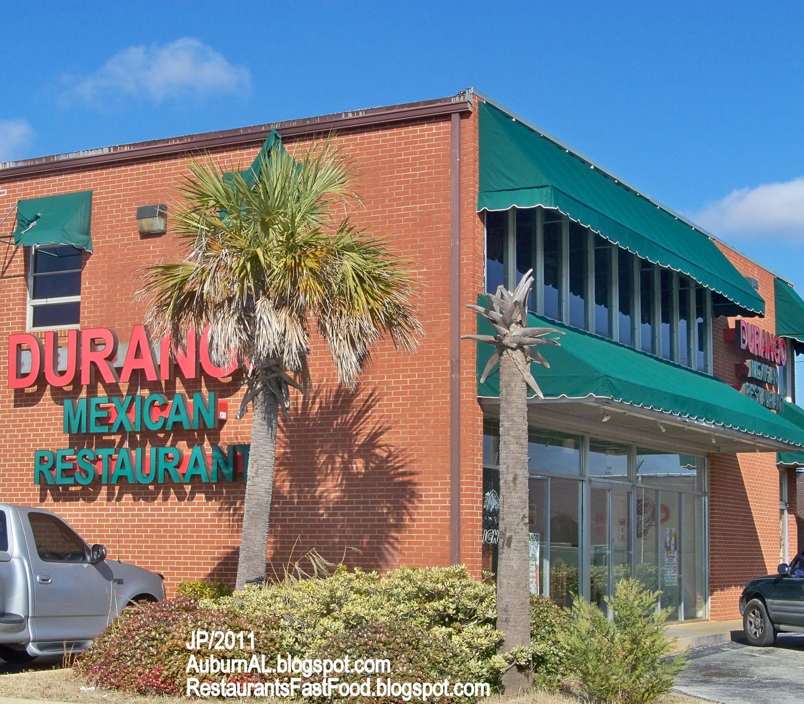 Durango Tino S Mexican Restaurant Opelika Alabama Pepperell Pkwy Food Auburn Al