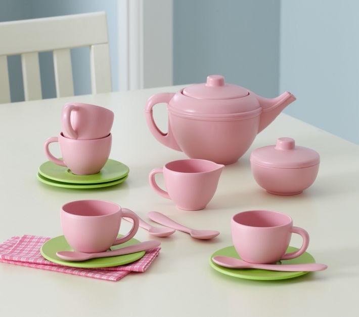 Petite Planet Green Toys Tea Set From Pottery Barn Kids