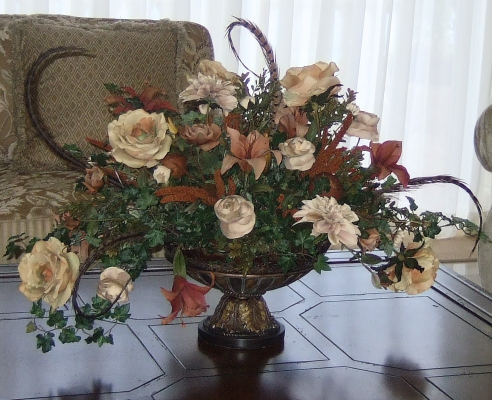 Living Room Centerpiece