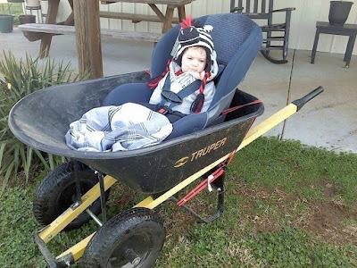 Redneck Stroller!