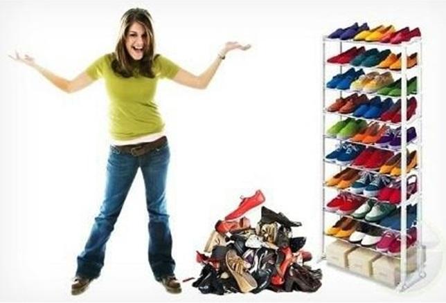 Cerita Cha Membuat Rak Sepatu Sederhana Dengan Besi Siku