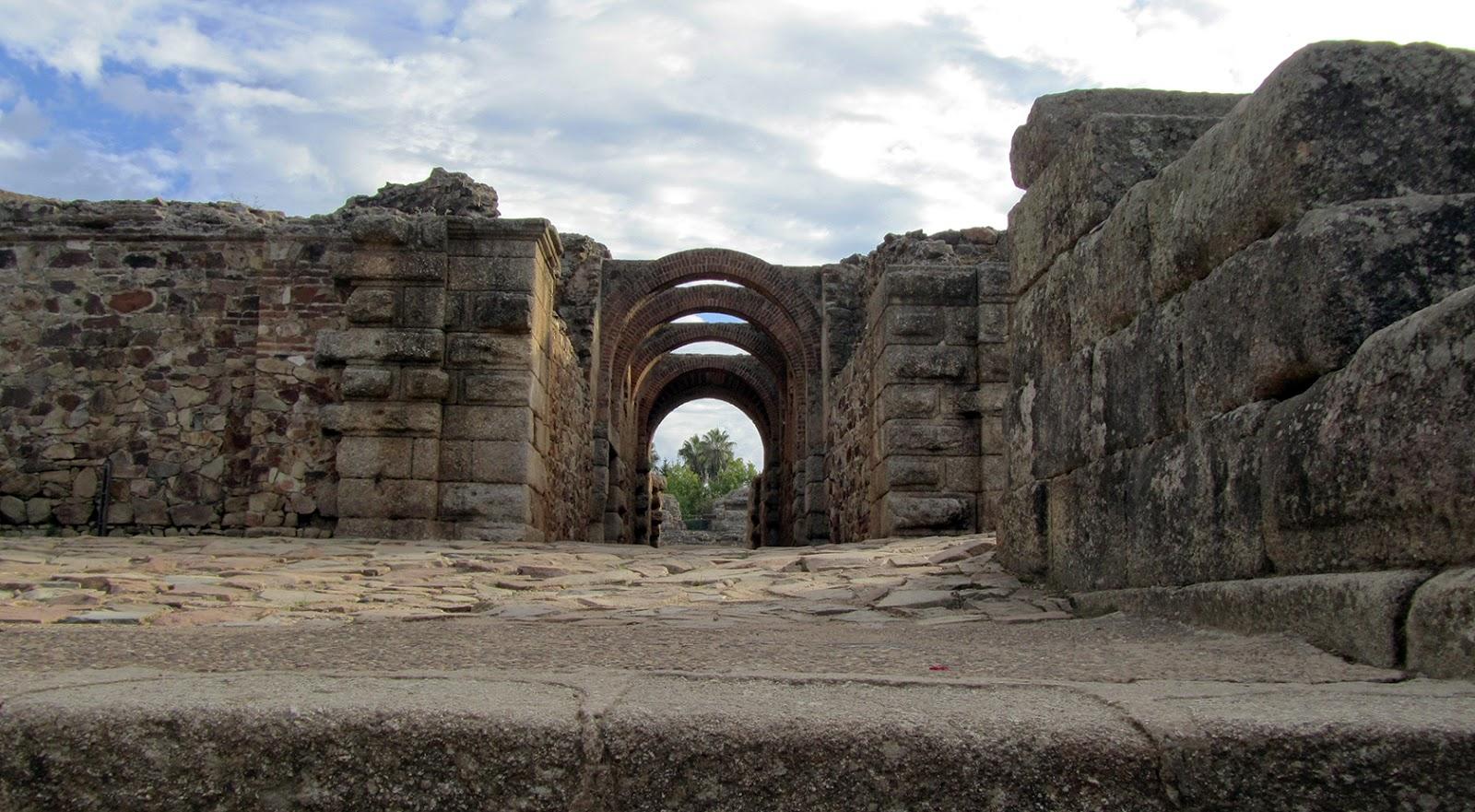 Mérida-Recinto Anfiteatro y Teatro Romano