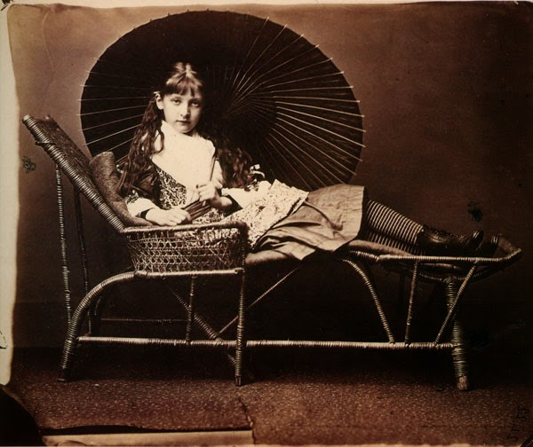 Lewis Carroll. Fine Art Photography. Xie Kitchin. 1876