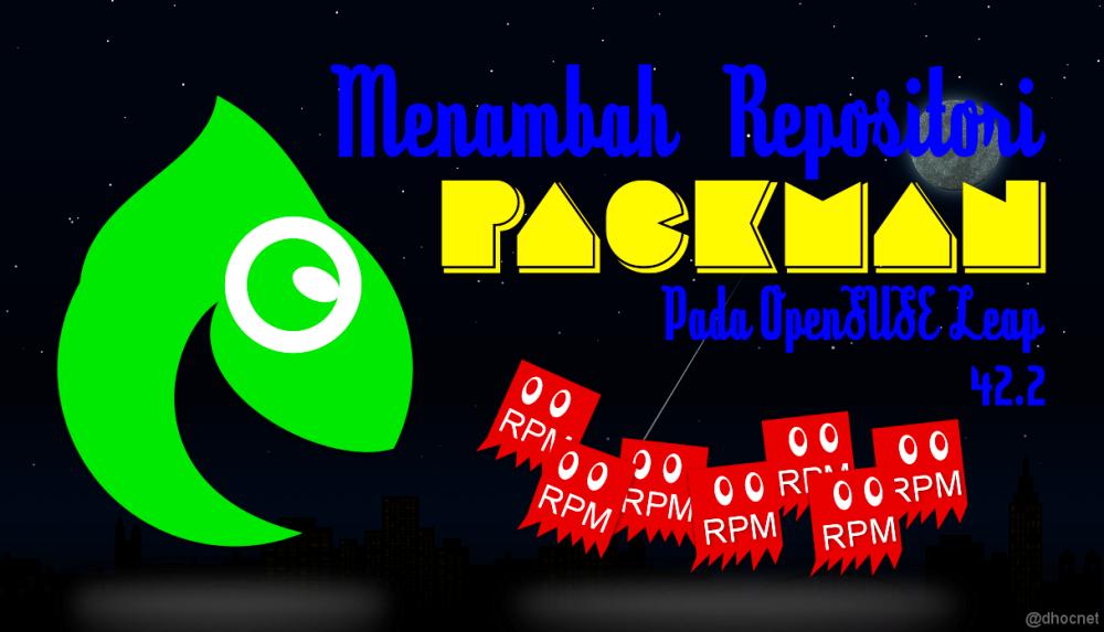 Cara Menambah Repositori PackMan Pada openSUSE Leap (42.2) - blog.dhocnet.info