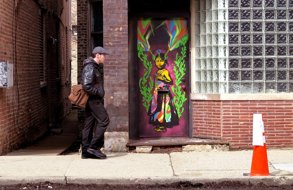 "Stinkfish has landed in Chicago, USA for the upcoming opening of his solo exhibition ""Savage Gaze"" at Vertical Gallery."