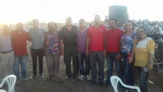 Olivânio e amigos prestigiam 1º motocross de Santa Luzia do Seridó, distrito de Picuí