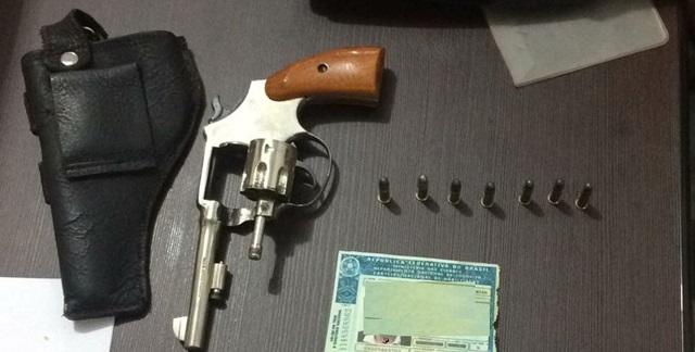 Iretama: Após denúncia, Polícia apreende arma de fogo e munições