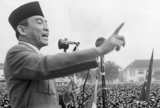 Perkataan Presiden Soekarno ini Menjadi Nyata