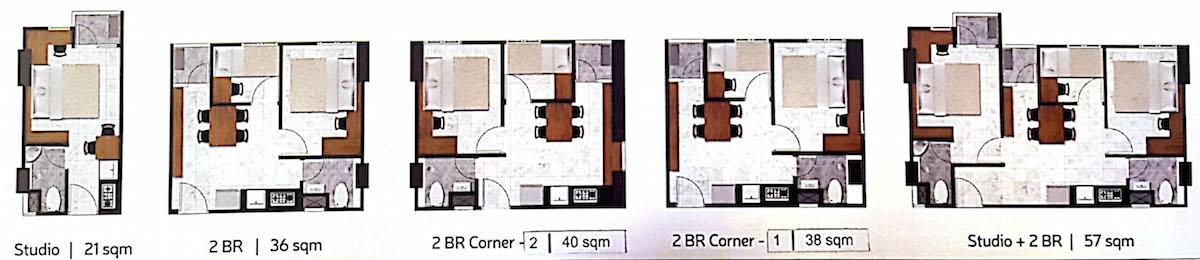 Tipe Unit Apartemen PIK 2