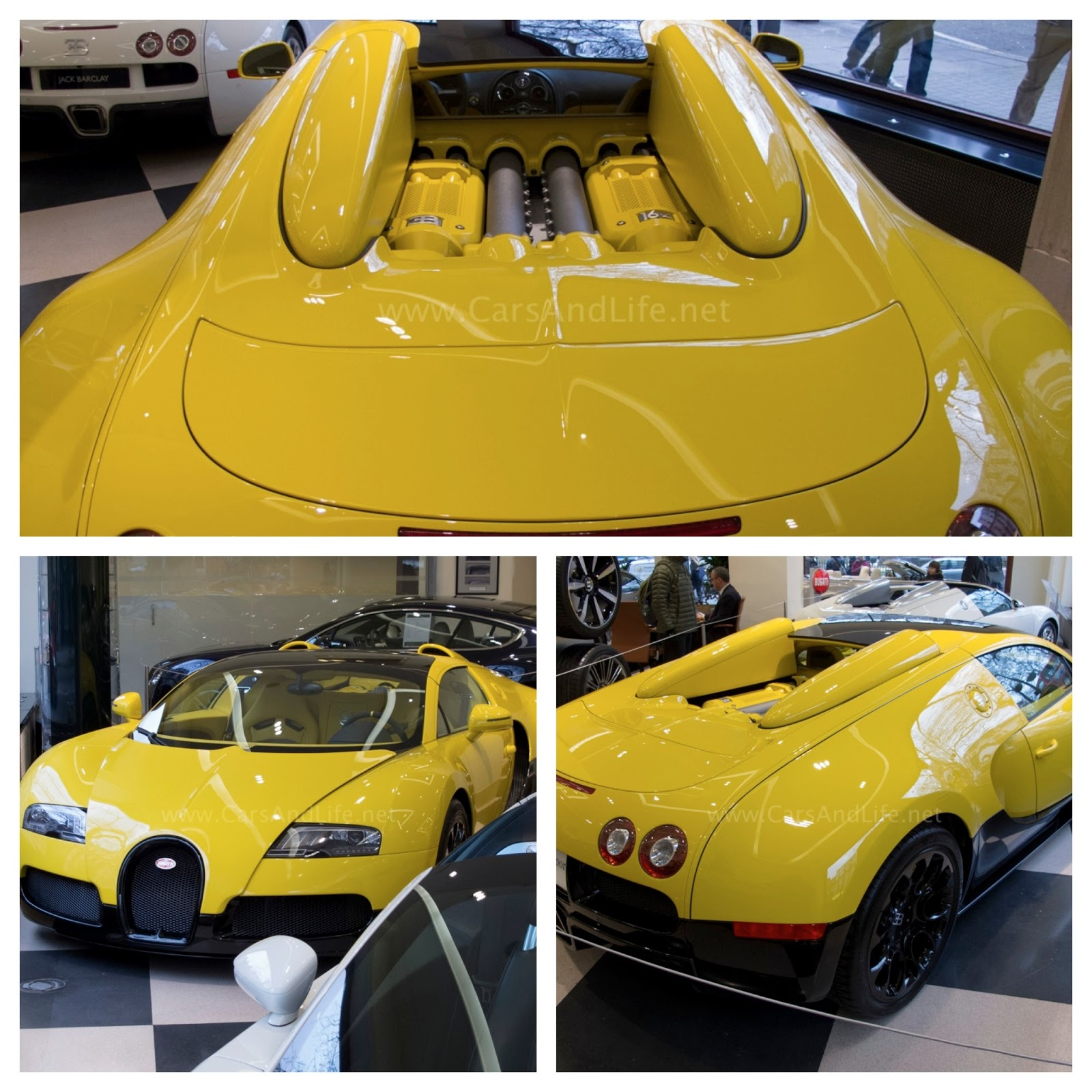 Bugatti Veyron Grand Sport 16.4 Open-Top