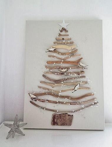 Casa - Decoração - Reciclados: Árvores de Natal Diferentes
