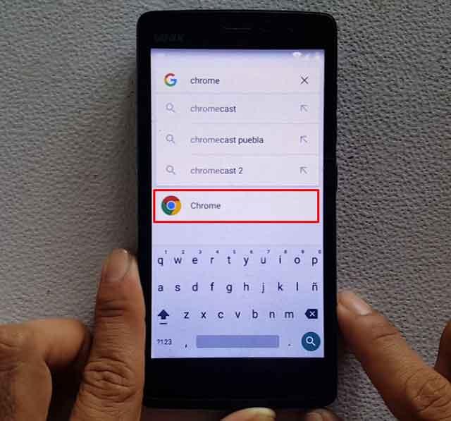 configurar una cuenta de Google