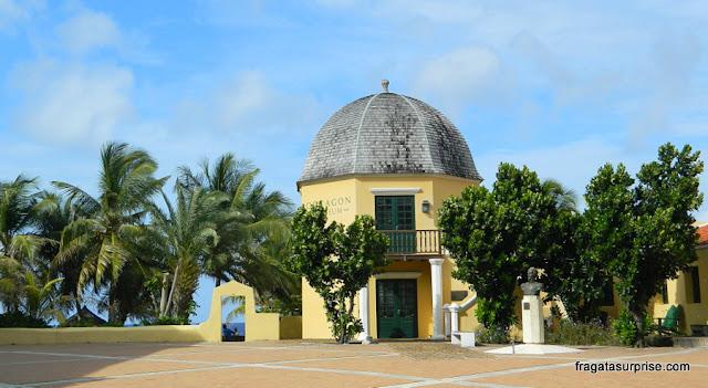 Curaçao - Museu Bolivariano, no Octagon, onde morou Simón Bolívar