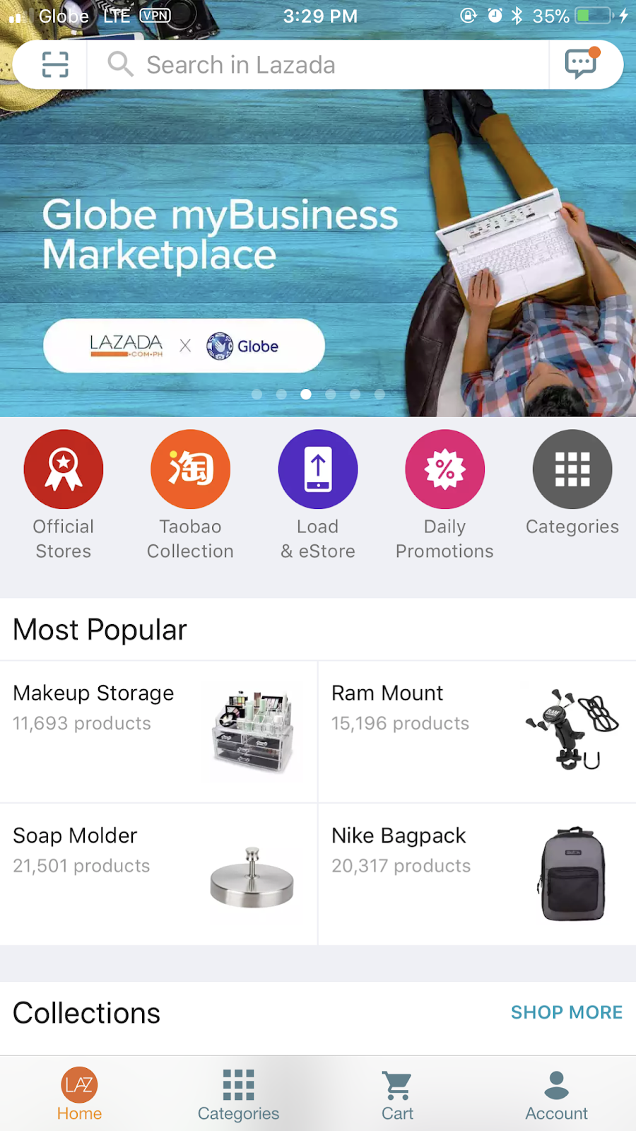 Globe myBusiness and Lazada introduced DigiMall which served as a re ... 60a9f9fcd