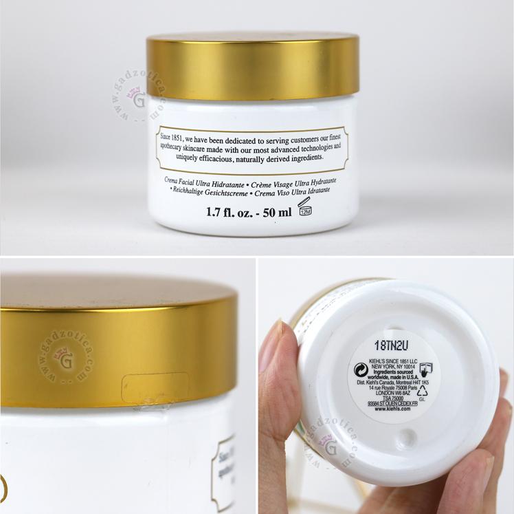 Review Kiehl's Ultra Facial Cream