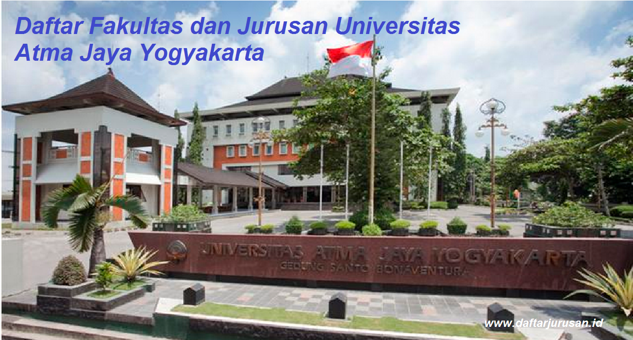 Daftar Fakultas dan Jurusan UAJY Universitas Atma Jaya Yogyakarta