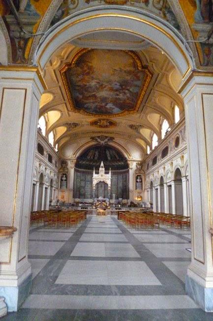 Santa Cecilia Trastevere nave - Santa Cecilia em Trastevere