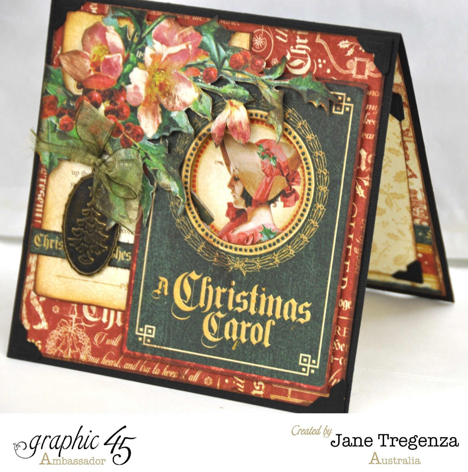 """Jane Tregenza: Graphic 45's """"A Christmas Carol"""" Collection"""