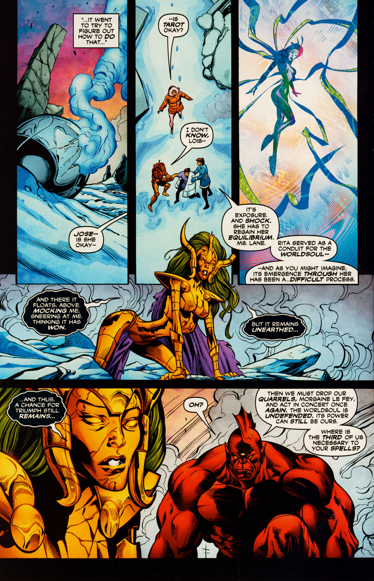 Read online Trinity (2008) comic -  Issue #51 - 10