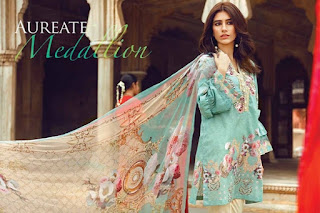 Cross Stitch Lawn Eid Collection 2017 - 2018
