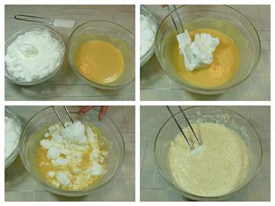 Elaboración del Pastel Japonés 2