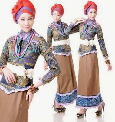 Baju muslim wanita remaja yang modis