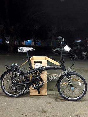 Sepeda Lipat Polygon Urbano 3.0