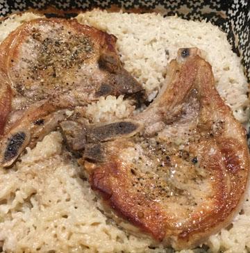 Forgotten Pork Chops: A One Pan Dish