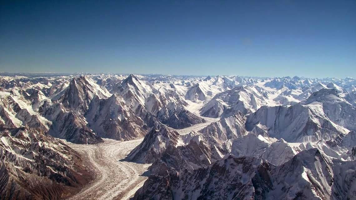 Sistema montañoso del Himalaya