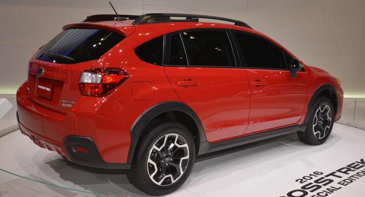 Subaru XV Crosstrek Special Edition Hides Between Concepts At Chicago