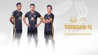 Jersi Away Pasuka Terengganu FA 2016