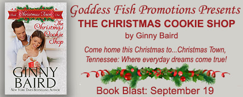 THE CHRISTMAS COOKIE SHOP Book Blast & Giveaway