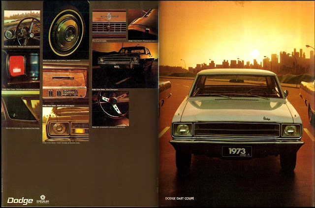 propaganda Dodge Dart Coupê ano 73 - 1972