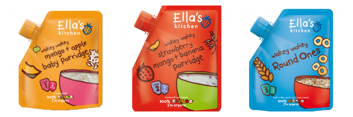 Ella's Kitchen Wakey Wakey Breakfast Range