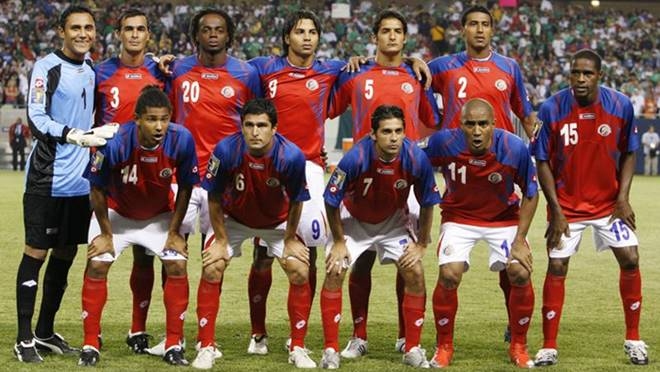 Piala Dunia 2018 Timnas Kosta Rika