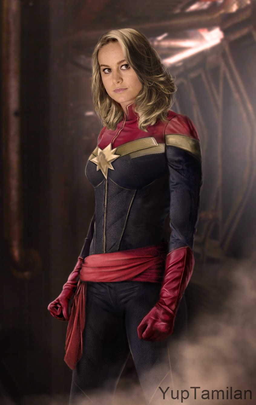 Brie Larson Sexy Photos Captain Marvel Actress Sizzling Bikini