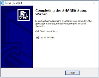 Cara menggunakan dan install share it di laptop/komputer