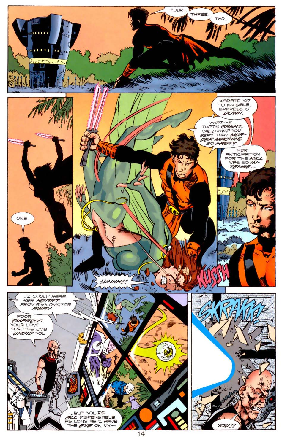 Legion of Super-Heroes (1989) 121 Page 13