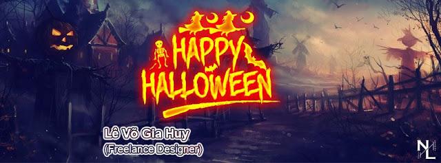 PSD Ảnh Bìa Halloween 2018-2019 Part 2