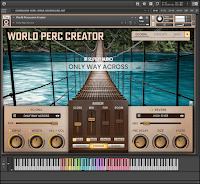 In Session Audio World Percussion Creator KONTAKT Library