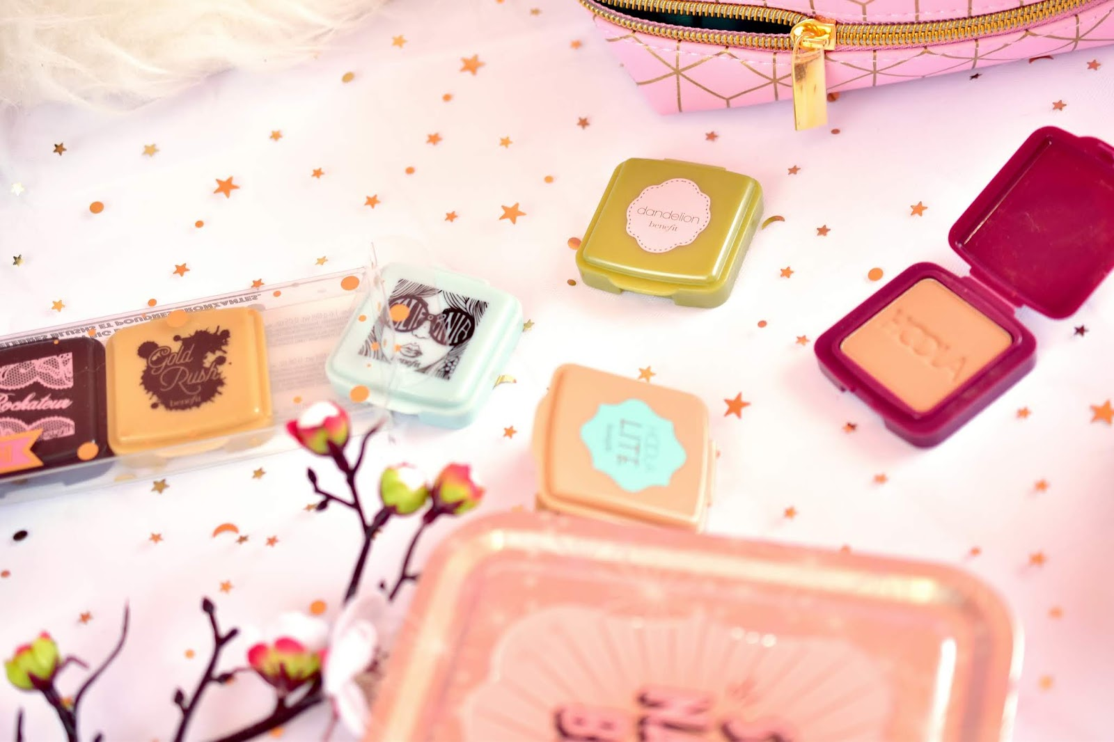 Benefit blush bunch
