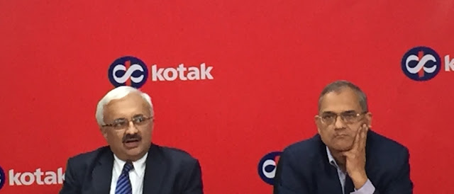 Kotak Mahindra Bank announces results Bank PAT for Q3 fy17 Rs 880 cr up 39% consolidated pat for Q3 fy17 Rs 1,267 cr up 34%