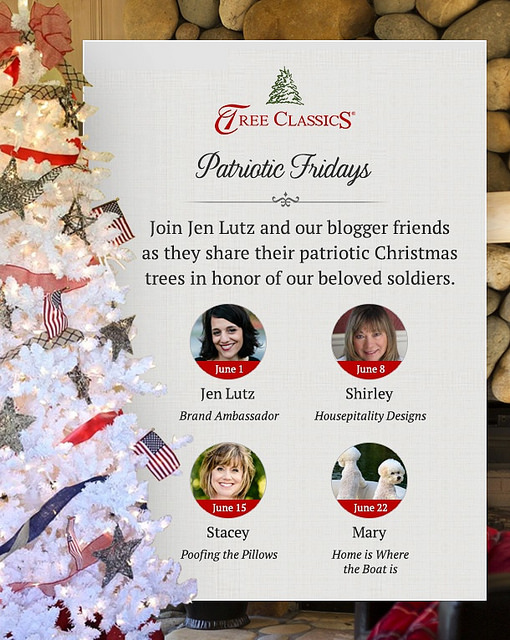 I'm Honored to be Joining Patriotic Fridays with Tree Classics and Three Other Bloggers