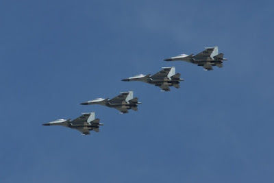 Indian Air Force flies into US & UK in their Sukhoi Su-30 MKI fighters