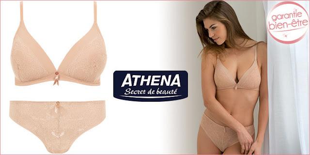 Jeu Concours 40 ensembles de lingerie Athena à gagner